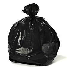 PlasticPlace 56 Gallon Glutton Black Trash Bags, 2.4 Mil, 50/Cs - MPN: W56LDB24