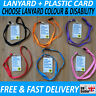 Face Mask Covering Exempt Card Exemption UK Asthma COPD Disability Lanyard FAST!