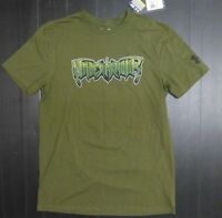 Under Armour Mens Size S/P Green Loose Fit Heat Gear T Shirt New With Tags