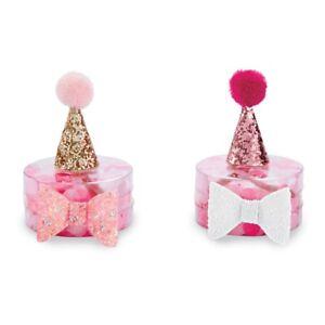 Mud Pie E0 The Kids Shoppe Glitter Birthday Party Hat & Bow Set 10160097 Choose