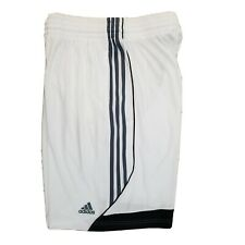 [Z06816] Mens Adidas 3G Speed Basketball Shorts Small White/Black (Minor stains)