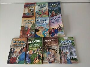 Mandie Mystery Book Lot By Lois Gladys Leppard