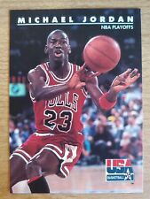 Michael Jordan 1992 Skybox USA Basketball #42 Chicago Bulls NBA All-Time Leader