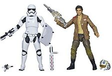 Star Wars Black Series POE DAMERON & RIOT STORMTROOPER Action Figures EXCLUSIVE