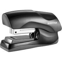 Bostitch Stapler 40-Sheet Half Strip Flat Clinch Black B175BLK