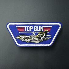 Top Gun Iron Sew On Patch Fancy Dress Badge Embroidered Diy Clothes Transfer