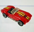 1986 Hot Wheels Classic Cobra Red Shelby Cobra SC427 Real Riders