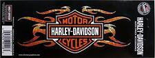 harley davidson flames motor cycle decal bike emblem tag adhesive sticker HD new