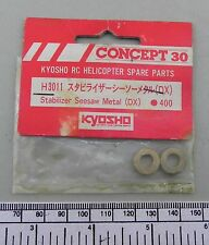 Concept 30 (Kyosho) part H3011 - stabilizer seesaw metal (2 pcs.)