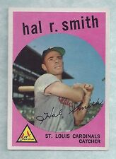 1959 Topps #497 Hal Smith St. Louis Cardinals EX-MT Plus to NM