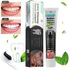 Aktivkohle Zahnbleichung Zahnpasta naturschwarz Minze Geschmack Kräuter-