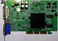 ATI Radeon 9200 SE Vintage AGP 92SEAD128B 64MB DDR VGA DVI TV-Out Video Card