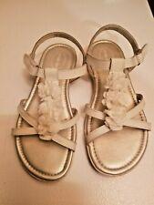 Maddy White Sandals - Stride Rite Size 3M