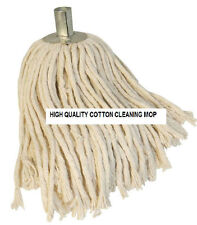 Fregona de cadena de algodón puro con casquillo de acero oficina de limpieza de baldosas de recarga