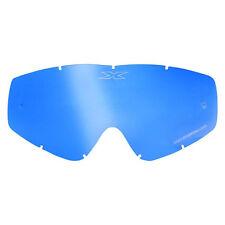 2602-0628 EKS X Brand Single pane GOX replacement Lens Blue