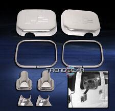 2003 2004 2005 Hummer H2 Suv Sut Side Door Mirror Covers Trims Bezel Chrome 8Pcs (Fits: Hummer)