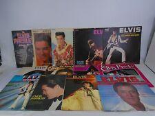 """Job Lot of Elvis Presley 12"""" Vinyl Blue Hawaii Good Times Separate Ways"""