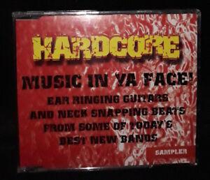 Hardcore Music In Ya Face (CD) Promo - Sampler - Australia