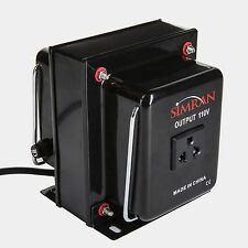 750 Watt Simran Heavy-Duty Step-Down Voltage Converter, 220V to 110V