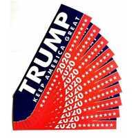New 10PCS Donald Trump For President 2020 Bumper Sticker Keep Make America Great
