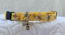 Bumble Bee Cat Collar Custom Made