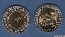 Suisse – 5 Francs 2003 Chalandamarz SUP FDC – Switzerland Swiss