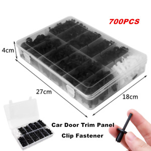 700PCS Assortments Car Body Push Retainer Pin Rivet Parts Clip Moulding Tool Kit