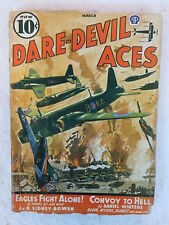 DARE-DEVIL ACES March 1941  Vol. 27, No. 4 Popular Publications, Inc.
