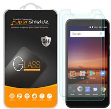 2X Supershieldz for ZTE Avid 4 Tempered Glass Screen Protector Saver