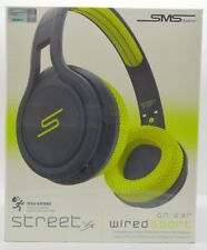 SMS Audio Street by 50 cent Wired On-Ear Sport Headphones - Yellow