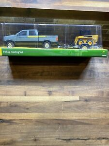 NEW John Deere Pickup Hauling Set, Pickup, Trailer, & Skid Steer, Ages 3+, 37510