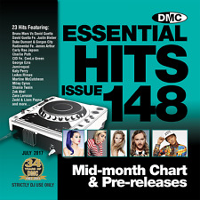 DMC Essential Hits 148 Chart Music DJ CD - Latest Releases of Radio Edit Tracks