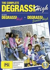 Degrassi High : The Complete Series 1987-1991 - Drama NEW R4 DVD
