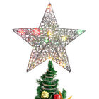 Christmas Star Tree Topper LED Treetop Light for Indoor Outdoor Xmas Home Decor
