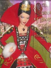 2007 Barbie Doll Alice in Wonderland Queen of Hearts Silver Label L5850 NRFB