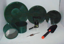M1 Green Mini Gold Classifier Screen & Gold Pan Panning Kit