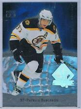 2007-08 UD SP AUTHENTIC PATRICE BERGERON HOLOFX INSERT #FX27 BRUINS