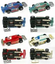 4 1970's Foreign Fast Ho Rare Indy F1 Grand Prix Slot Cars Unused! Great Looks !
