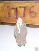 STAR WARS FIGURE BIB FORTUNA W/ COAT 1983