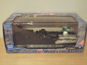 Solido 50th Anniversary Liberation Set 4494/31 JEEP SAS + Trailer Remorque MINT