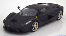 1:18 Hot Wheels Ferrari LaFerrari 2013 flatblack
