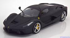 1:18 Hot Wheels Ferrari LaFerrari 2013 flatblack