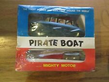 Rare Ahm Go-Go Boat Pirate Boat with Mighty Motor Sealed!