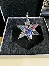 1pcs New Glass AB Star Pendant ornament Charms Pendant Gift X'mas Party Decor