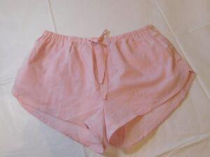 Victoria's Secret Femmes Sommeil Short Pyjama Salon XS ST11132611CC45KG Rose Nwt