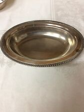 Silverplated CN Copper Serving Dish