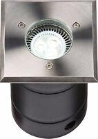 Gu10 LED Ip67 Acciaio Inox di Superficie/Vialetto Lampada Quadrato Wsguled