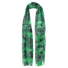 Écharpes et châles verts en polyester pour femme