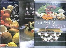 Cucina Sì 2 voll. - V.Del Balzo, R.Godi, A.Pretaroli - Ed.Cappelli - Cucina