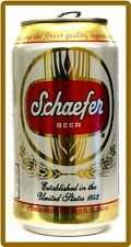 Schaefer Beer Can Refrigerator / Tool Box Magnet Man Cave